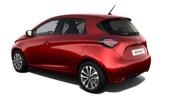 Renault ZOE –  elettrica / ibrida – 5 posti completo